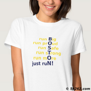 running shirt photo: Boston! Just run!